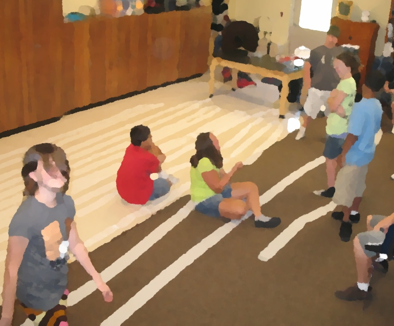 Toilet Paper Timeline (Image from Montessori Muddle)