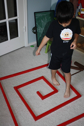 Red Rods Extension (Photo from Montessori MOMents)