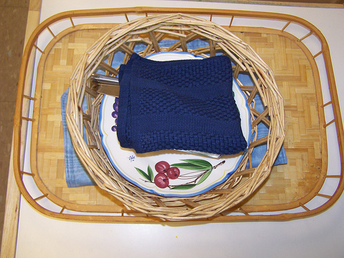 Table Setting Tray (Photo from My Montessori Journey)