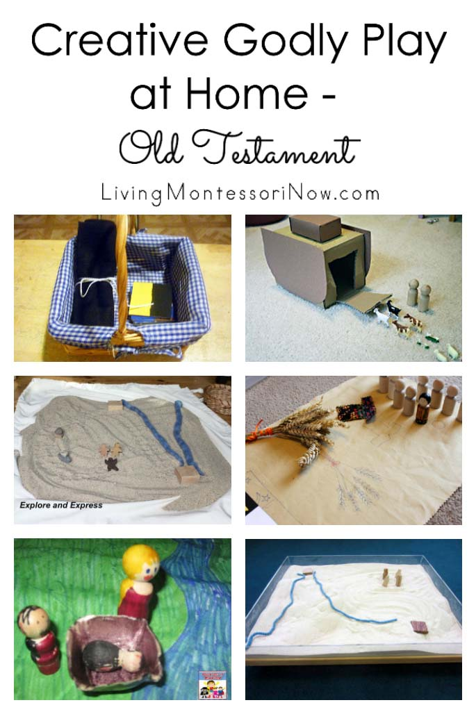 Creative Godly Play at Home – Old Testament