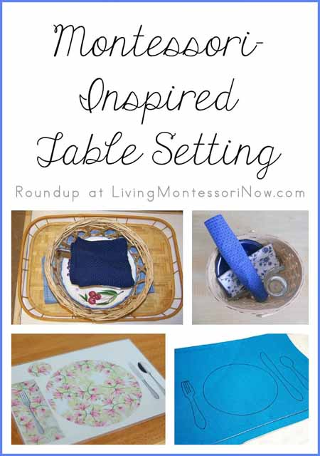 Montessori-Inspired Table Setting