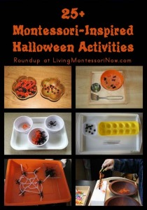 25+ Montessori-Inspired Halloween Activities