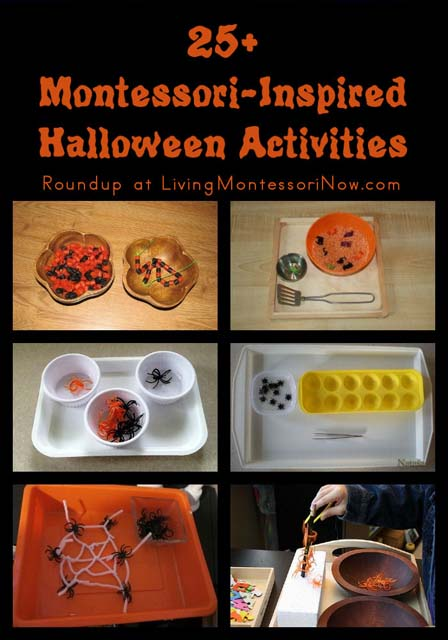 Montessori Monday – 25+ Montessori-Inspired Halloween Activities