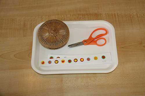 Autumn Paper Cutting Activity (Photo from Counting Coconuts)