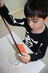 Skull Threading (Photo from Montessori MOMents)