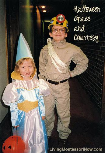 Montessori Monday – Halloween Grace and Courtesy