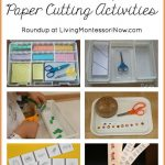Montessori Monday – Paper Cutting Activities