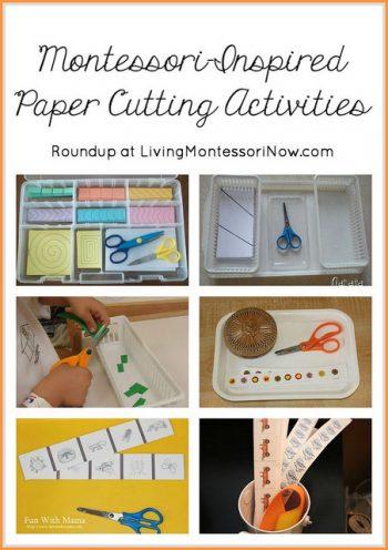 Montessori-Inspired Paper Cutting Activities