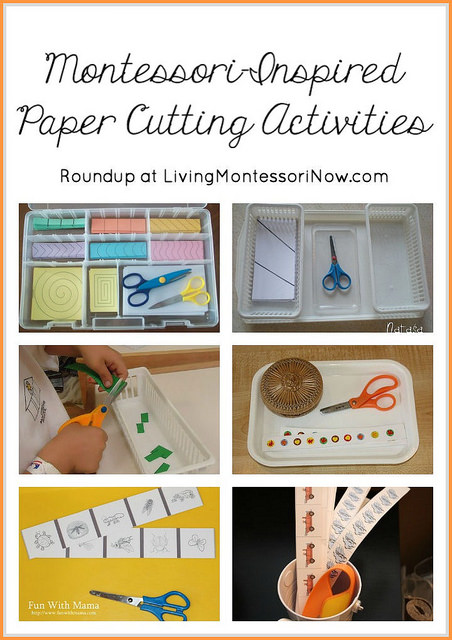 Montessori-Inspired Paper Cutting Activities