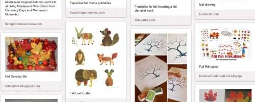 Pinterest - Autumn Leaf Unit Study