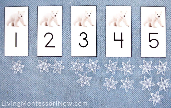 Polar Bear Cards and Counters