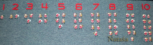 Numbers and Santa Counters (Photo from Leptir)