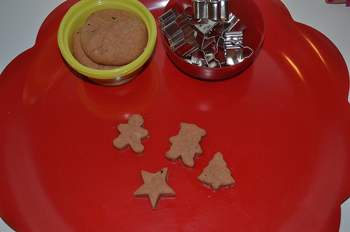 Gingerbread Playdough Mat (Photo from The Education of Ours)