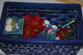 Winter Sets Basket (Photo by Jessie from The Education of Ours at Mommy Moment)