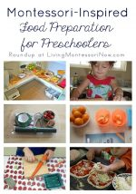 Montessori-Inspired Food Preparation for Preschoolers