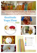 Montessori-Inspired Gratitude Activities {Montessori Monday}