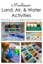 Montessori Land, Air, and Water Activities