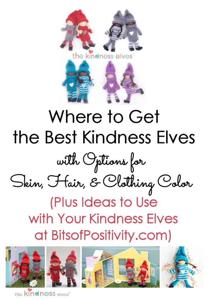 Where to Get the Best Kindness Elves with Options for Skin, Hair, and Clothing Color