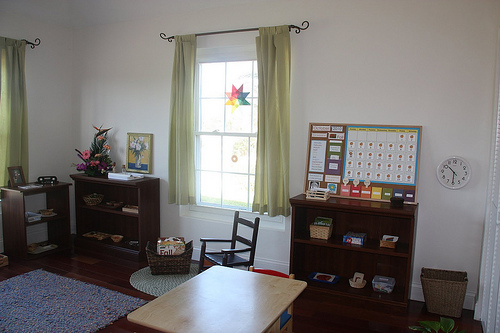 Montessori Homeschool Classroom from Counting Coconuts