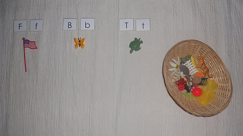 Alphabet Box Activity (Photo from Counting Coconuts)