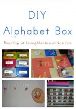 Montessori Monday – DIY Alphabet Box