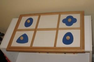 DIY Geometric Shapes (Photo from OurMontessoriHome.wordpress.com)
