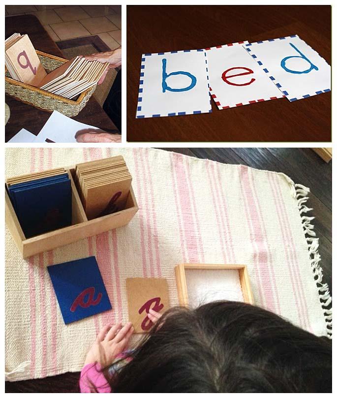 DIY Sandpaper Letters