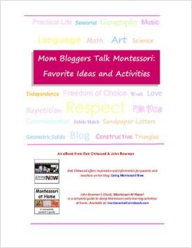 Free eBook – Mom Bloggers Talk Montessori: Favorite Ideas and Activities