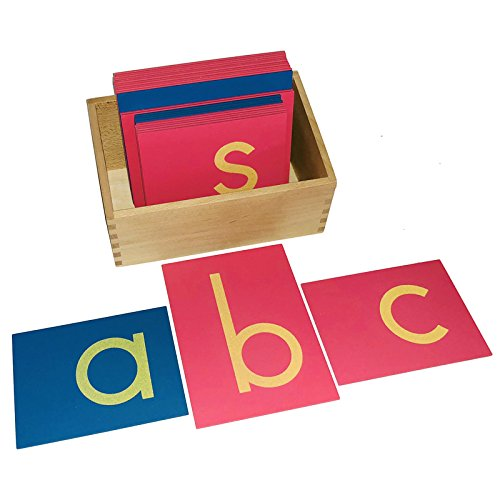 Lowercase Sandpaper Letters from Kid Advance