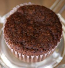 Natural, Gluten-Free, Chocolate Oat Bran Muffin