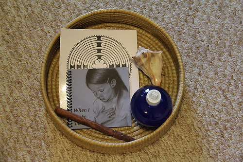 Peace Basket (Photo from Chasing Cheerios)