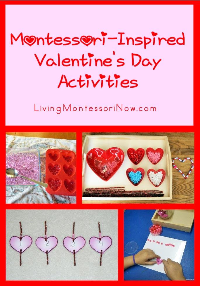 Montessori-Inspired Valentine's Day Activities