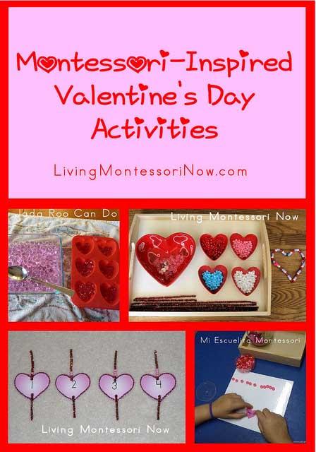 Montessori Monday – Montessori-Inspired Valentine\'s Day Activities