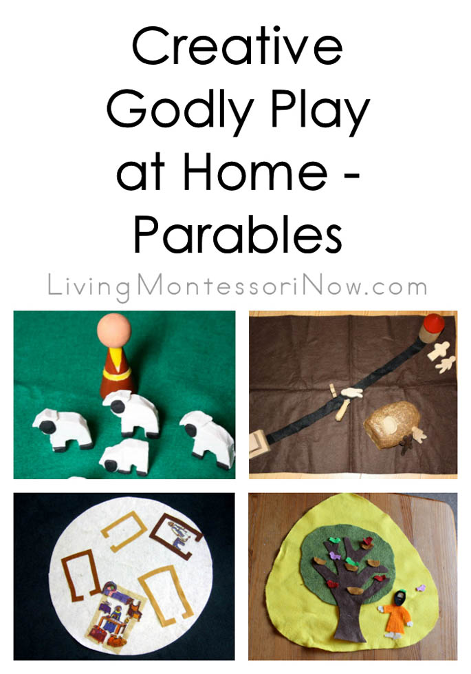 Creative Godly Play at Home - Parables