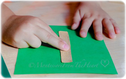 DIY Sandpaper Numerals from Montessori from the Heart