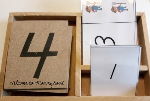 DIY Sandpaper Numerals with Printables from Welcome to Mommyhood