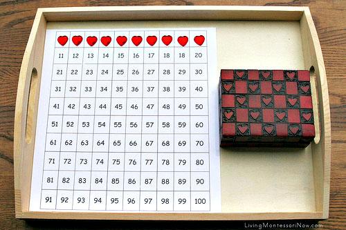 Hundred Chart Tray
