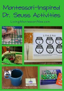 Montessori-Inspired Dr. Seuss Activities