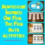Montessori-Inspired One Fish, Two Fish Math Activities Using Free Printables