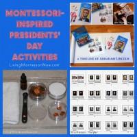 Montessori-Inspired President's Day Activities