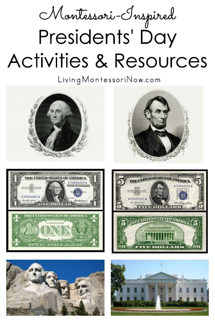 Montessori-Inspired Presidents' Day Activities and Resources