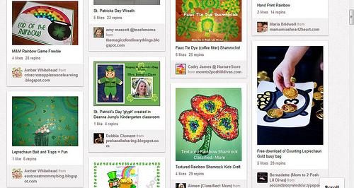 Pinterest - St. Patrick's Day
