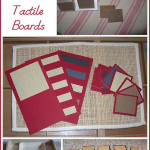 Montessori Monday – DIY Tactile Boards and Extensions
