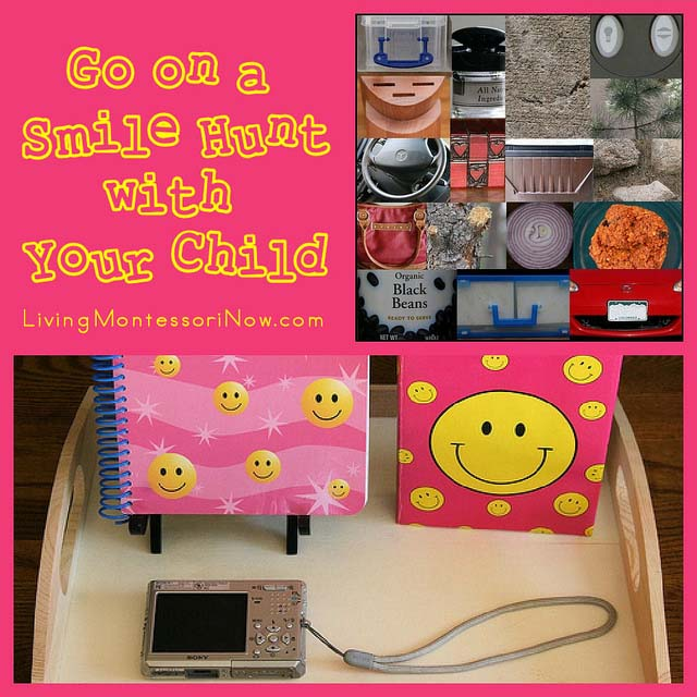 Go on a Smile Hunt with Your Child