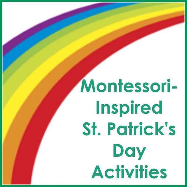 Montessori-Monday – Montessori-Inspired St. Patrick's Day Activities