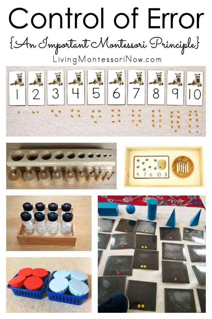 Control of Error {An Important Montessori Principle}