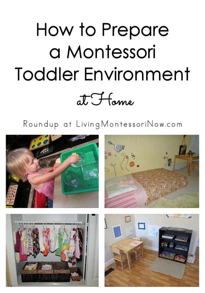 How to Prepare a Montessori Toddler Environment