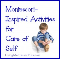 Montessori-Inspired Activities for Care of Sef