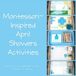 Montessori-Inspired April Showers Activities with Free Water Cycle Printables