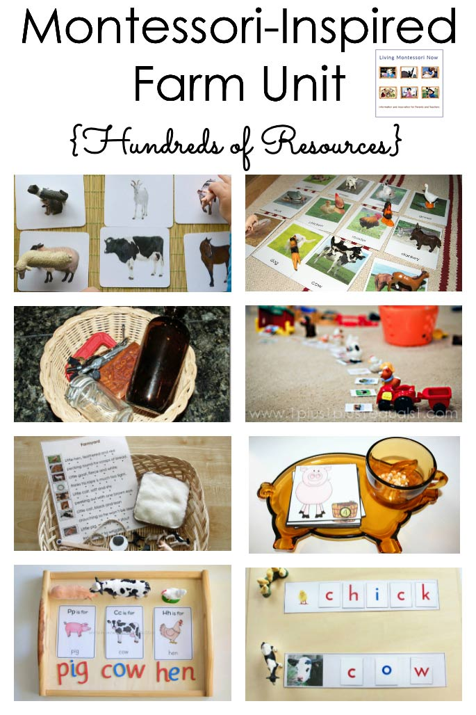 Montessori-Inspired Farm Unit {Hundreds of Resources}